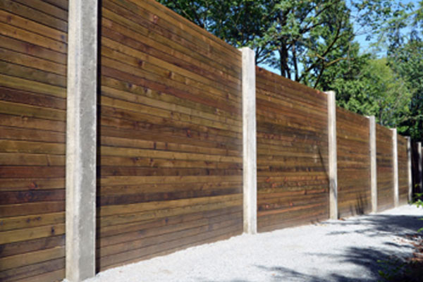 Wood Barrier